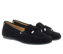 Loafers & Slippers - Sutton Moccasin Suede Black