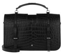 Charlotte Messenger Bag Black
