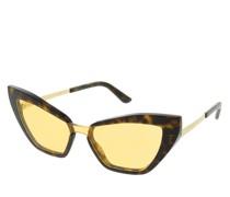 Sonnenbrille 0DG4357 502/P4 Woman Sunglasses Eternal Havana