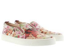 Loafers & Slippers - Shangai Floral Print Metallic Slipper Oro Multi/ Dry Rose