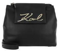 K/Signature Soft Shoulderbag Black
