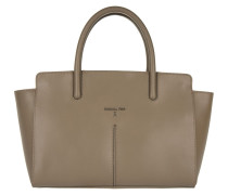 Tasche - Pepe Leather Handbag Uniform Gray