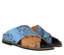 Sandalen Flat Brunnera Blue