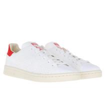 Stan Smith OG Primeknit Sneakers White/Chalk White/Red Sneakerss