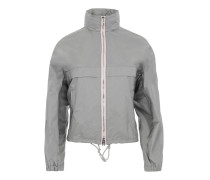 K-Way Nylon Piuma Jacket Argento + Rosa