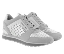 Billie Trainer Aluminium/Silver Sneakers silber