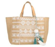 Tasche - Leila Emb Bag Natural/Ivory