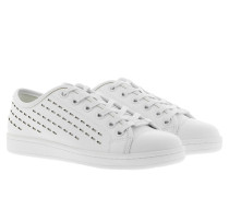 Baylee Sneaker Lace Up Leather White