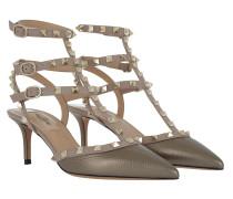 Rockstud Ankle Strap Pump Sasso Pumps