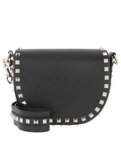 Valentino Damen Rockstud Bag Leather Black Tasche
