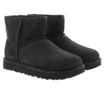 Boots W Classic Mini Leather Black