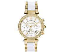 Parker Pavé -Tone Acetate Watch Armbanduhr