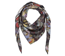 Schal - Butterfly Silk Foulard Colorful