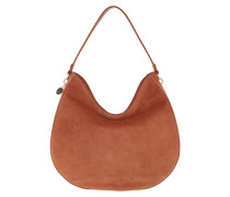 Hobo Bag Alpha Suede Tan