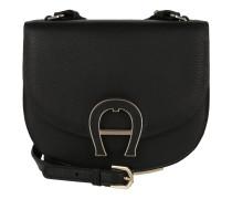 Tasche - Pina Mini Leather Crossbody Bag XS Black