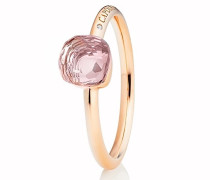 Ring Happy Holi Rose Quartz Pink Diamond Rosegold