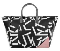 Tasche - Trapeze Tote Graphic Pattern Black/White Grey