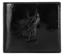 Monogram Wallet Patent Black Portemonnaie
