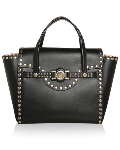 versace damen versace tasche borsa nappa applicazione. Black Bedroom Furniture Sets. Home Design Ideas