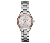 Armbanduhr - Ladies Slim Runway Watch Silver-Tone