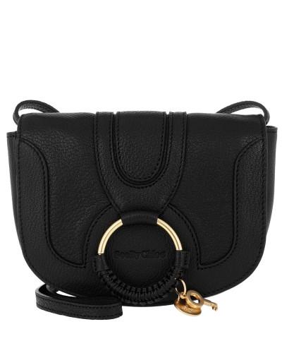 Umhängetasche Hana Mini Crossbody Bag Smooth Black schwarz