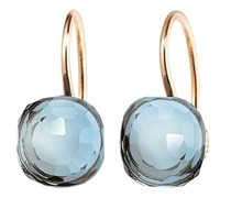 Ohrringe Earrings Happy Holi Topas Skyblue Cabochon