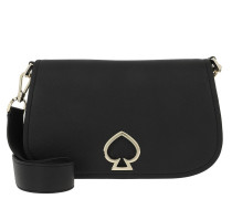 Umhängetasche Suzy Medium Saddle Bag Black