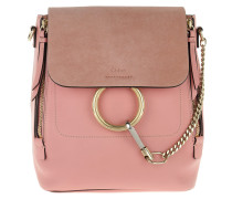 Faye Backpack Small Washed Pink Rucksack