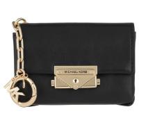 Keychain Charms Leather Cece Bag Charm Black
