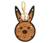 Animal Rabbit Mirror Charm Schlüsselanhänger