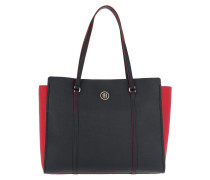 Modern Tommy Tote Navy/ Red rot