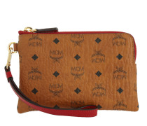 Color Visetos Small Tech Pouchette Cognac Portemonnaie rot
