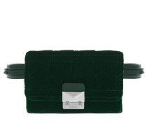 Karl X Kaia Velvet Bum Bag Green