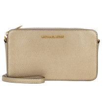 Tasche - Jet Set Travel MD EW XBody Bag Pale Gold - in gold