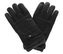 Handschuhe Elevated Flag Leather Mix Gloves Black