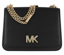 Mott Long Chain Shoulder Bag Black