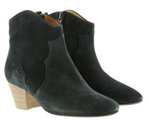 Dicker Ankle Boots Faded Black Schuhe