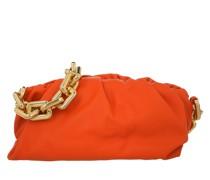 Hobo Bag The Chain Medium Pouch Leather Orange
