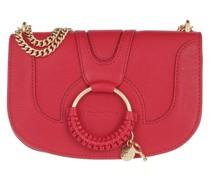 Umhängetasche Hana Crossbody Bag Leather Red Flame