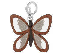 Kleja Keyhold Derby Butterfly Cognac Schlüsselanhänger braun