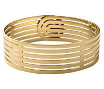 Armband Infinity Cuff Polished Gold