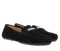 Kidsuede Berdine Flats Casual Black Schuhe