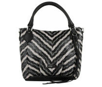 Gina Watersnake Vintage Multicolored Tote schwarz