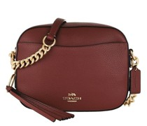 Crossbody Bags Polished Pebble Leather Camera Bag