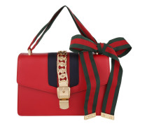 Tasche - Sylvie Leather Shoulder Bag Rosso - in rot