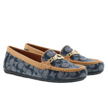 Schuhe Shoes Drivers Slipper Chambray