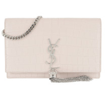 Kate Monogramme Chain Clutch Light Pink