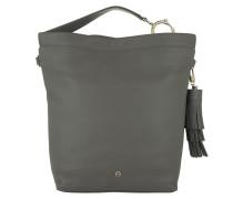 Saida M Hobo Bag Concrete Grey