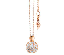 Halskette Necklace Dolcini Brilliant Cut Rosegold