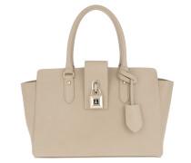 Large Padlock Handbag Spring Tote
